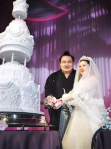 鶴竜 結婚式