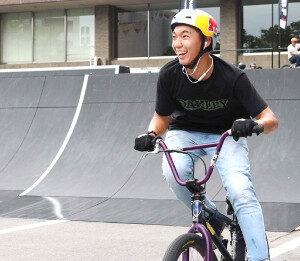中村輪夢BMX